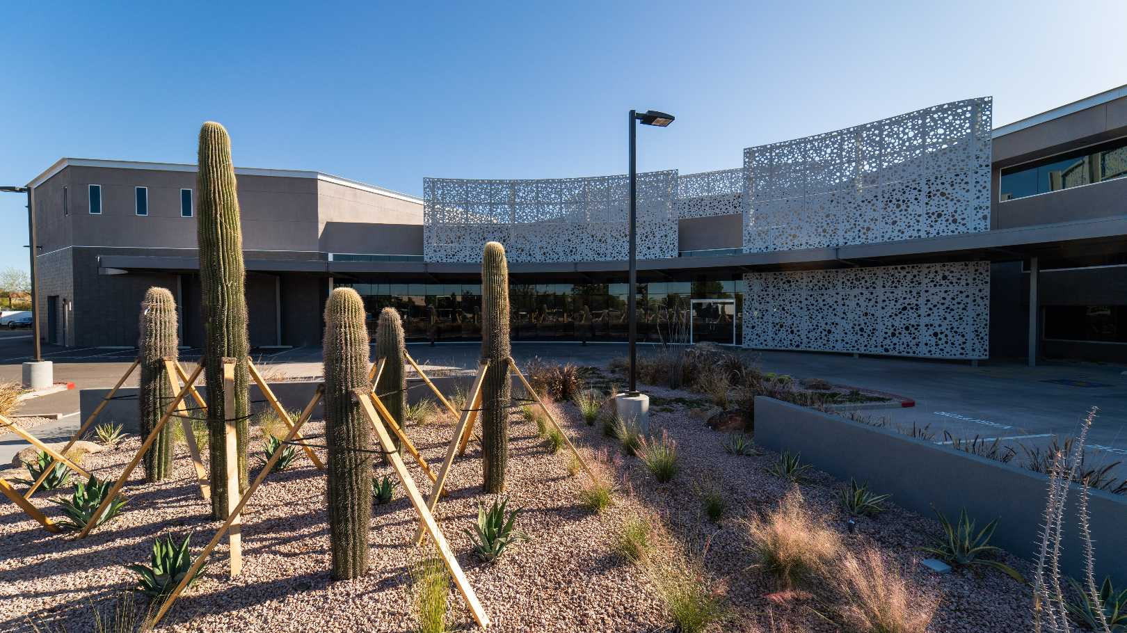 Commercial property landscape arizona